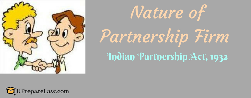 nature of partnerships All three types of partnership have the following features in common:  ordinary  partnerships also have to be registered with hmrc for tax purposes.
